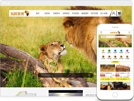 某某玩转非洲旅游网